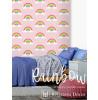 Rainbow Wallpaper Pink Belgravia 9991