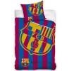FC Barcelona Juego de funda nórdica individual con logotipo de esquina