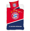 FC Bayern Munich Red and Blue Single Cotton Duvet Cover Set