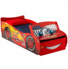Lightning McQueen Disney Cars Feature Toddler Bed with Storage