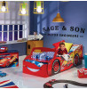 Disney Cars Lightning McQueen Feature Toddler Bed with Storage Bedroom