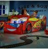 Disney Cars Lightning McQueen Toddler Junior Bed with Storage