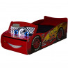 Disney Cars Lightning McQueen Feature Toddler Bed with Storage