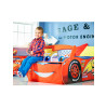 Disney Cars Lightning McQueen Feature Toddler Junior Bed with Storage and Mattress