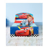 Disney Cars Toddler Bed with Deluxe Foam Mattress Bedroom