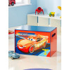 Disney Cars Toy Box Bedroom - Blue and Red