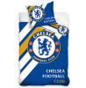 Chelsea FC Stripe Single Cotton Duvet Cover Set