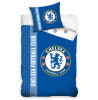 Chelsea FC Glow In The Dark Single Duvet Cover And Pillowcase Set