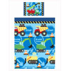 Construction Time Junior Toddler Duvet Cover and Pillowcase Set