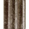Belle Maison Lined Eyelet Curtains - Crushed Velvet Range, Mink