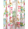 Owl and Friends Lined Curtains
