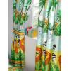 "Jungle-Tastic Lined Curtains 54"" Drop"