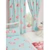 Fifi Flamingo Lined Curtains Polka Dot