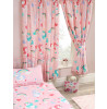 "I Believe In Unicorns Lined Curtains 72"" Drop"