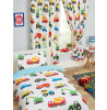 Trucks and Transport Lined Curtains 66in x 54in