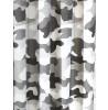 Cortinas de camuflaje gris 168 cm x 137 cm