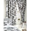 Grey Army Camouflage Lined Curtains 163 cm x 183 cm