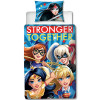 DC Superhero Girls Super Single Duvet Cover and Pillowcase Set