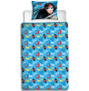 DC Super Hero Girls Single Panel Duvet Cover and Pillowcase Set