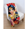 DC Superhero Super Girls Fleece Blanket