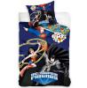 DC Super Friends Superheroes Single Cotton Duvet Cover Set
