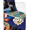 DC Super Friends Superheroes Single Reversible Duvet Cover Set