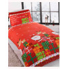 Dear Santa Christmas Single Duvet Cover and Pillowcase Set