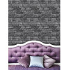 Charcoal Brick Effect Wallpaper Fine Decor FD31284