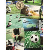 Football Collage Wallpaper - Fine Decor FD41915