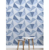 Fine Decor Apex Geometric Wallpaper Blue FD41992