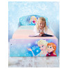 Disney Frozen Bedroom Toddler Bed with Deluxe Foam Mattress