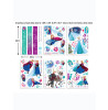 Wall Sticker Kit Disney Frozen Room Decor Walltastic