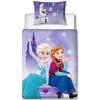 Disney Frozen Snowflake 4 in 1 Junior Bed Set (Duvet, Pillow and Covers)