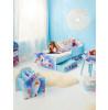 Frozen Bedroom Toddler Bed with Storage Mattress