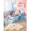 Disney Frozen 2 Kingdom of Arendelle Feature Toddler Bed With Fibre Mattress and Storage