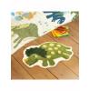 Catherine Lansfield Dinosaur Rug Green