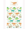 Dinosaur World Single Duvet Cover and Pillowcase Set