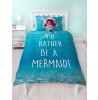 Ariel Little Mermaid Disney Princess Shellfie Single Duvet Cover Set