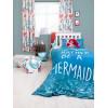 Disney Princess Ariel Little Mermaid Reversible Single Duvet Cover Set