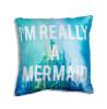 Disney Princess Ariel Little Mermaid Sequin Cushion