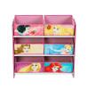 Disney Princess - Unidad de almacenamiento para dormitorio de 6 compartimientos