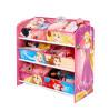Disney Princess 6 Bin Storage Unit Furniture