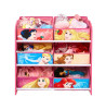 Disney Princess 6 Bin Organiser Storage Unit