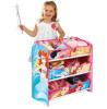 6 Bin Disney Princess Storage Unit