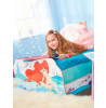 Disney Princess Ariel Toddler Bed with Underbed Storage