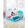 Disney Princess Ariel Junior Letto con letto contenitore