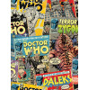 Doctor Who Retro Comic Wallpaper