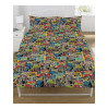 Doctor Who Comics Double Duvet Cover and Pillowcase Set