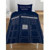 Doctor Who Classic Tardis Single Duvet Cover and Pillowcase Set