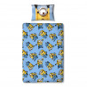 Despicable Me Minions Bello Single Reversible Duvet Cover and Pillowcase Set